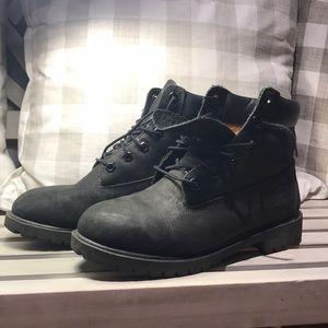 Timberland Black Boots